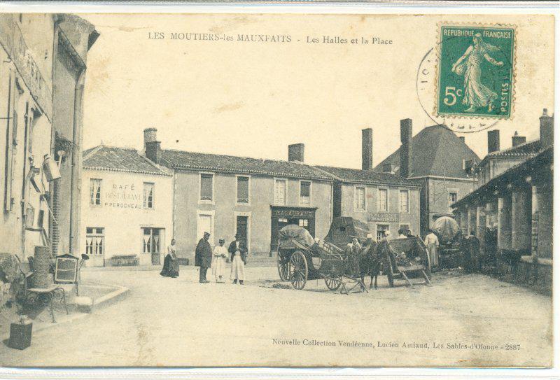 Histoire de Moutiers-Les-Mauxfaits