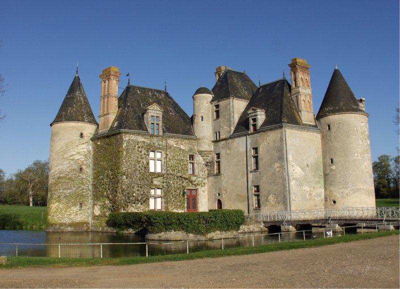 Le château de la Cantodière