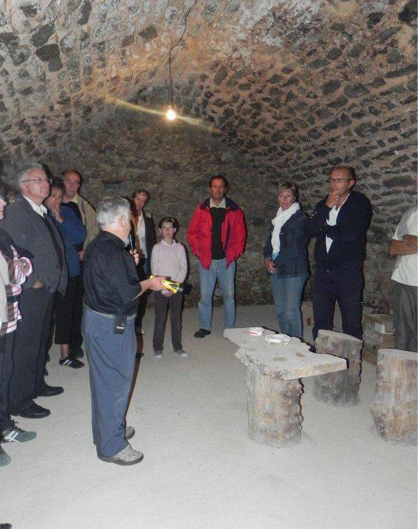 Les caves en voûtes - Moutiers-les-Mauxfaits