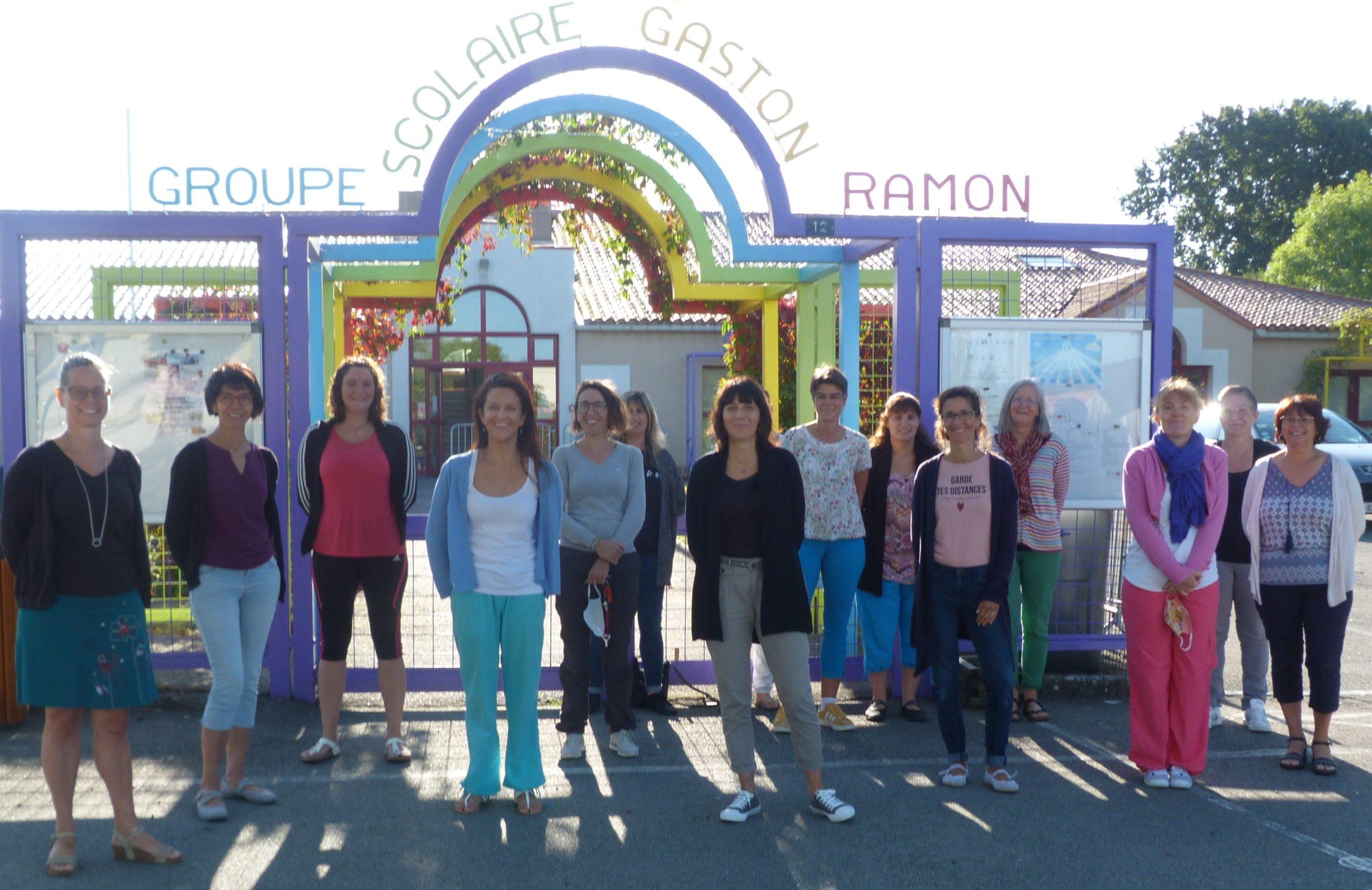 Ecole Gaston Ramon Enseignants