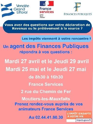 Permanence impots france services