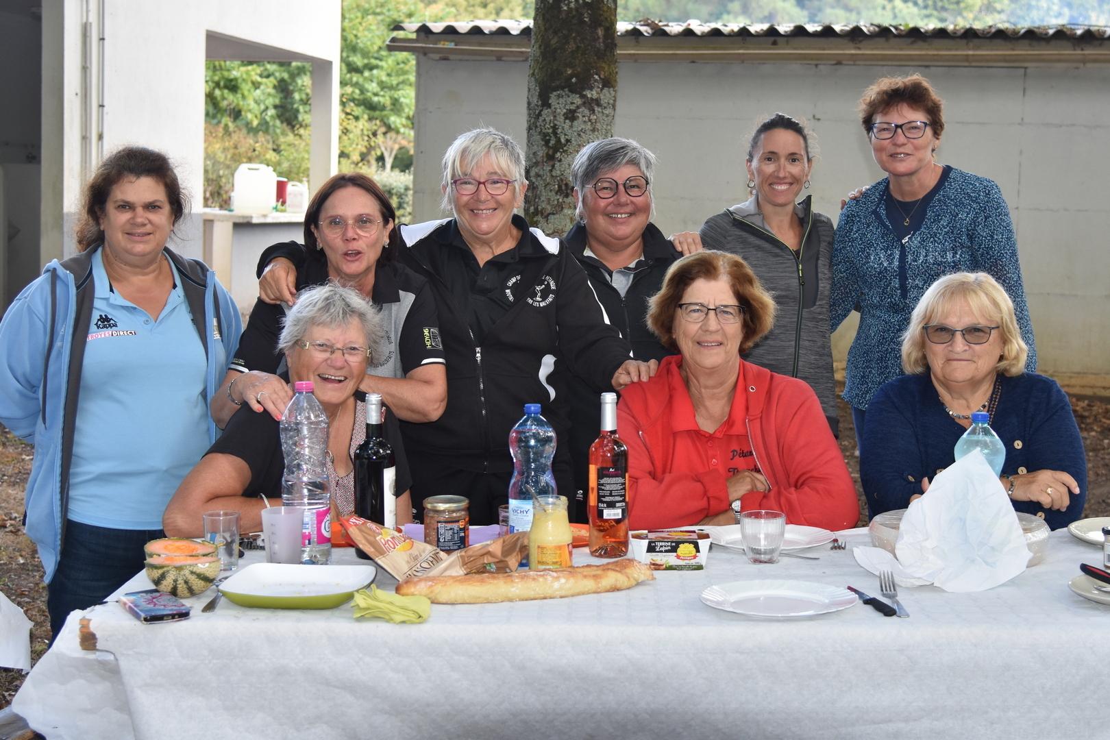 Les participantes du tournoi
